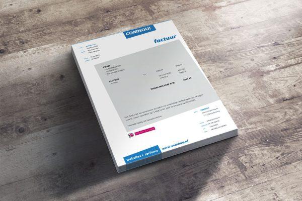 Restyling briefpapier